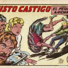 Tebeos: EL PEQUEÑO LUCHADOR NUMERO 81. JUSTO CASTIGO. Lote 154265934