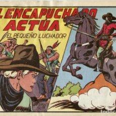 Tebeos: EL PEQUEÑO LUCHADOR NUMERO 89. EL ENMASCARADO ACTÚA. Lote 154266514