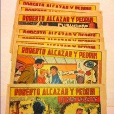 Tebeos: ROBERTO ALCAZAR - LOTE DE 10. Lote 154616582