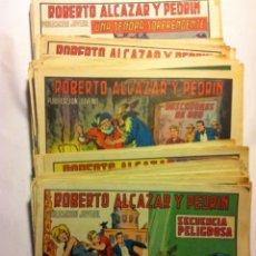 Tebeos: ROBERTO ALCAZAR - LOTE DE 118 EJEMPLARES. Lote 154617150