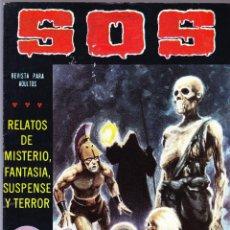 Tebeos: S.O.S. Nº 30 - II EPOCA 1982 - RELATOS DE MISTERIO FANTASIA SUSPENSE Y TERROR. Lote 154740626