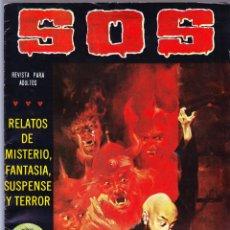 Tebeos: S.O.S. Nº 16 - II EPOCA 1981 - RELATOS DE MISTERIO FANTASIA SUSPENSE Y TERROR. Lote 154740690