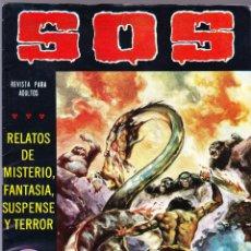 Tebeos: S.O.S. Nº 24 - II EPOCA 1981 - RELATOS DE MISTERIO FANTASIA SUSPENSE Y TERROR. Lote 154740722