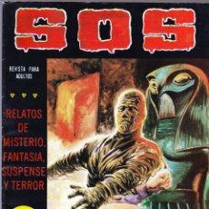 Tebeos: S.O.S. Nº 39 - II EPOCA 1982 - RELATOS DE MISTERIO FANTASIA SUSPENSE Y TERROR. Lote 154740766