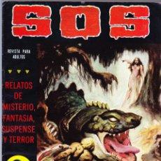Tebeos: S.O.S. Nº 37 - II EPOCA 1982 - RELATOS DE MISTERIO FANTASIA SUSPENSE Y TERROR. Lote 154740794