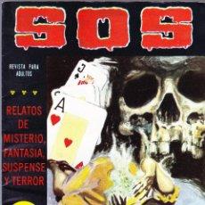 Tebeos: S.O.S. Nº 29 - II EPOCA 1982 - RELATOS DE MISTERIO FANTASIA SUSPENSE Y TERROR. Lote 154740834