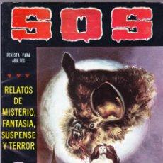 Tebeos: S.O.S. Nº 36 - II EPOCA 1982 - RELATOS DE MISTERIO FANTASIA SUSPENSE Y TERROR. Lote 154740842