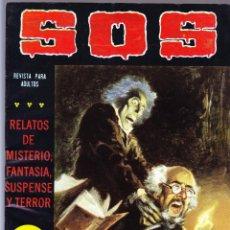Tebeos: S.O.S. Nº 35 - II EPOCA 1982 - RELATOS DE MISTERIO FANTASIA SUSPENSE Y TERROR. Lote 154740870