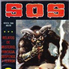 Tebeos: S.O.S. Nº 25 - II EPOCA 1981 - RELATOS DE MISTERIO FANTASIA SUSPENSE Y TERROR. Lote 154740890