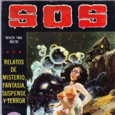 Tebeos: S.O.S. Nº 28 - II EPOCA 1981 - RELATOS DE MISTERIO FANTASIA SUSPENSE Y TERROR. Lote 154740906