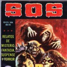 Tebeos: S.O.S. Nº 32 - II EPOCA 1982 - RELATOS DE MISTERIO FANTASIA SUSPENSE Y TERROR. Lote 154740934