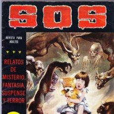 Tebeos: S.O.S. Nº 27 - II EPOCA 1981 - RELATOS DE MISTERIO FANTASIA SUSPENSE Y TERROR. Lote 154740982