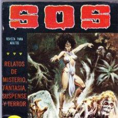 Tebeos: S.O.S. Nº 31 - II EPOCA 1982 - RELATOS DE MISTERIO FANTASIA SUSPENSE Y TERROR. Lote 154741022