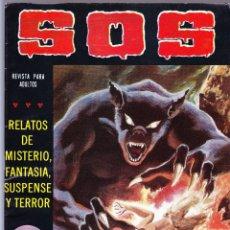 Tebeos: S.O.S. Nº 34 - II EPOCA 1982 - RELATOS DE MISTERIO FANTASIA SUSPENSE Y TERROR. Lote 154741054