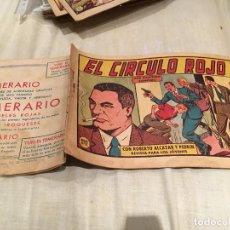Tebeos: ROBERTO ALCAZAR Y PEDRIN Nº 407 - EL CIRCULO ROJO - EDITORIAL VALENCIANA. Lote 154756726