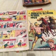 Tebeos: ROBERTO ALCAZAR Y PEDRIN ALMANAQUE 1960 - EDITORIAL VALENCIANA. Lote 154759510
