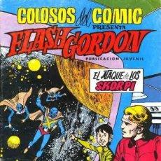 Tebeos: FLASH GORDON-COLOSOS DEL CÓMIC- Nº 14 -EL ATAQUE DE LOS SKORPI- GRAN DAN BARRY-BUENO-1980-LEAN-0473. Lote 154865002