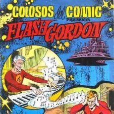Tebeos: FLASH GORDON-COLOSOS DEL CÓMIC- Nº 16 -EL REGRESO DE EGON BLANT-GRAN DAN BARRY-BUENO-1980-LEAN-0475. Lote 154866454