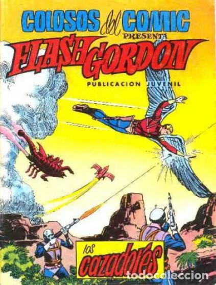 FLASH GORDON-COLOSOS DEL CÓMIC- Nº 18 - LOS CAZADORES-GRAN DAN BARRY-DIFÍCIL-BUENO-1980-LEAN-4354 (Tebeos y Comics - Valenciana - Colosos del Comic)
