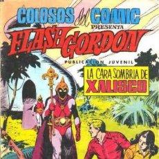 Tebeos: FLASH GORDON-COLOSOS DEL CÓMIC- Nº 19 - LA CARA SOMBRÍA DE XALISCO-DAN BARRY-BUENO-1980-LEAN-0477. Lote 154867814