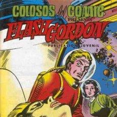 Tebeos: FLASH GORDON-COLOSOS DEL CÓMIC- Nº 28 -EL BUQUE SIDERAL-GRAN DAN BARRY-BUENO-1980-LEAN-0486. Lote 155010662