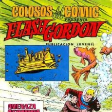 Tebeos: FLASH GORDON-COLOSOS DEL CÓMIC- Nº 30 -AMENAZA ATÓMICA-GRAN DAN BARRY-BUENO-1980-LEAN-0488. Lote 155013378