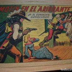 Tebeos: EL ESPADACHIN ENMASCARADO - NÚMERO 249 - ORIGINAL - VALENCIANA. Lote 155016850