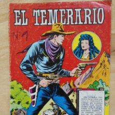Tebeos: EL TEMERARIO, COLOSOS DEL COMIC - Nº 206 - ED. VALENCIANA. Lote 155070394