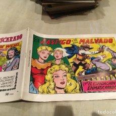 Tebeos: EL ESPADACHÍN ENMASCARADO Nº 16 EDITORIAL VALENCIANA 1981. Lote 155137846