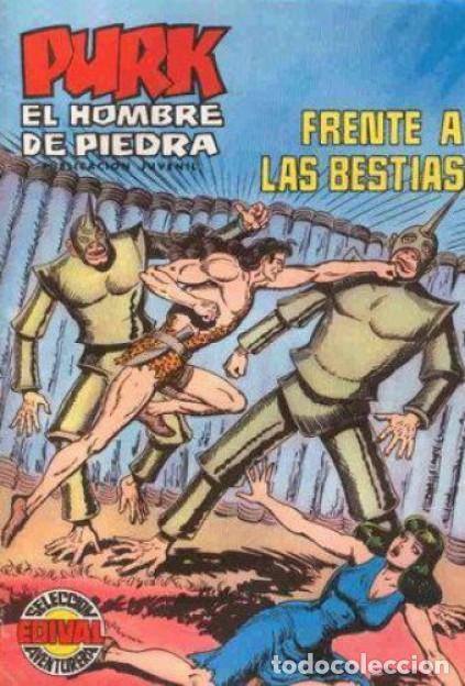 PURK EL HOMBRE DE PIEDRA-SELECCIÓN AVENTURERA- Nº 57 -GRAN MANUEL GAGO-BUENO-LEAN-0498 (Tebeos y Comics - Valenciana - Selección Aventurera)