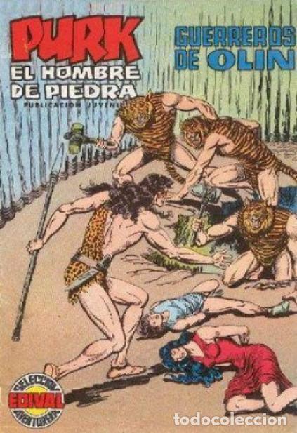 PURK EL HOMBRE DE PIEDRA-SELECCIÓN AVENTURERA- Nº 88 -1975-GRAN MANUEL GAGO-BUENO-LEAN-0500 (Tebeos y Comics - Valenciana - Selección Aventurera)