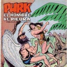 Tebeos - PURK EL HOMBRE DE PIEDRA-SELECCIÓN AVENTURERA- Nº 100 -1976-GRAN MANUEL GAGO-BUENO-LEAN-0501 - 155144646