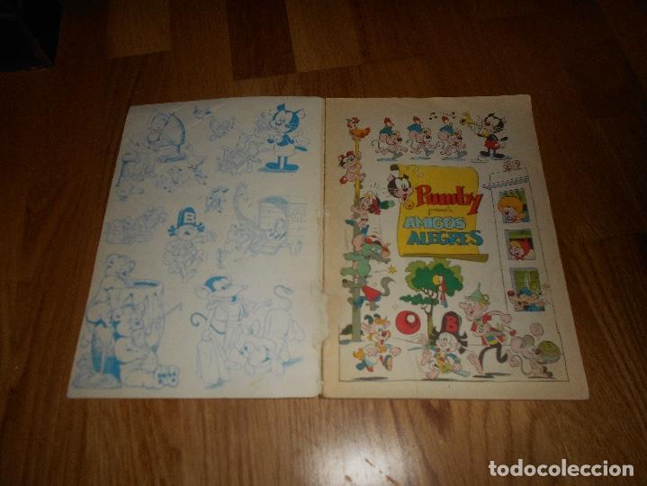 Tebeos: LIBROS ILUSTRADOS PUMBY Nº 1 EDITORIAL VALENCIANA 1967. 35 PTS. AMIGOS ALEGRES - Foto 2 - 155149906