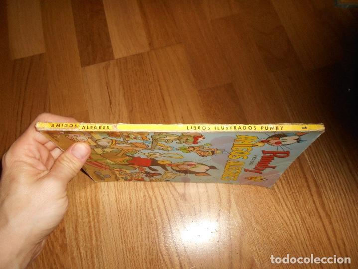 Tebeos: LIBROS ILUSTRADOS PUMBY Nº 1 EDITORIAL VALENCIANA 1967. 35 PTS. AMIGOS ALEGRES - Foto 5 - 155149906