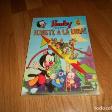 Tebeos: PUMBY Nº 8. 1969. ¡ COHETE A LA LUNA!. LIBROS ILUSTRADOR PUMBY. VALENCIANA. PERFECTO. Lote 155155134