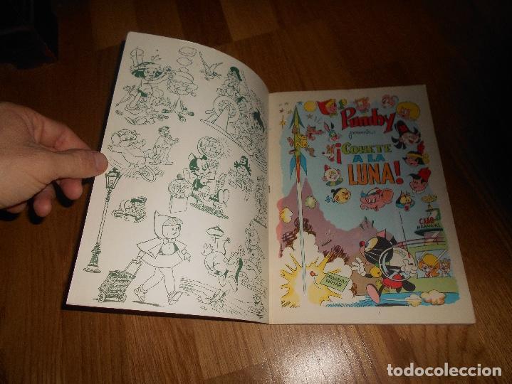 Tebeos: Pumby Nº 8. 1969. ¡ Cohete a la Luna!. Libros Ilustrador Pumby. Valenciana. PERFECTO - Foto 2 - 155155134
