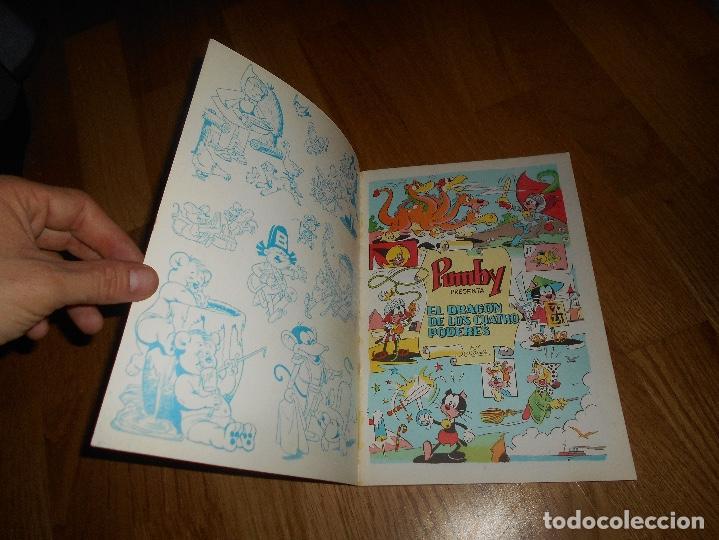 Tebeos: Libros ilustrados Pumby, nº 16, El dragon de los Cuatro Poderes 1969 PERFECTO - Foto 2 - 181549721