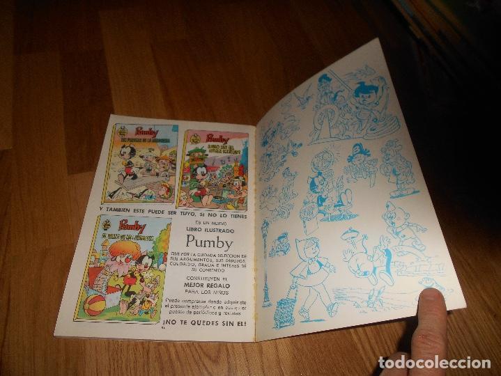 Tebeos: Libros ilustrados Pumby, nº 16, El dragon de los Cuatro Poderes 1969 PERFECTO - Foto 5 - 181549721