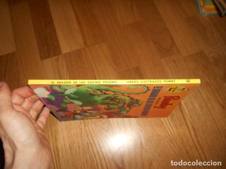 Tebeos: Libros ilustrados Pumby, nº 16, El dragon de los Cuatro Poderes 1969 PERFECTO - Foto 6 - 181549721