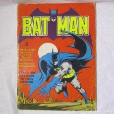 Tebeos: BATMAN, COMIC GRANDE Nº 5 VALENCIANA 1976. Lote 174055973