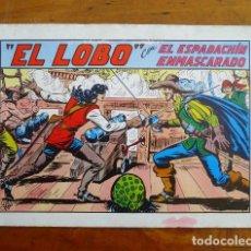 Tebeos: EL ESPADACHÍN ENMASCARADO. Nº 20 : EL LOBO. - 2ª ED.. Lote 155231966