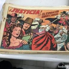Tebeos: COLECCIÓN DE TEBEOS EL ESPADACHÍN ENMASCARADO. Lote 155236838