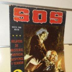 Tebeos: RELATOS DE MISTERIO S.O.S. Nº 35 SEGUNDA EPOCA - VALENCIANA -. Lote 155281442