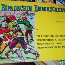 Tebeos: EL ESPADACHIN ENMASCARADO TOMO 8 (1981) SEGUNDA EDICIÓN. Lote 155491946