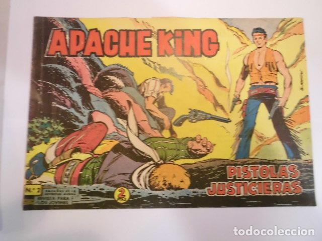 APACHE KING NUM 2 - VALENCIANA - 1962 (Tebeos y Comics - Valenciana - Otros)