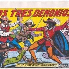 Tebeos: EL ESPADACHÍN ENMASCARADO . 2ª EDICIÓN. Nº 24 . Lote 155651390