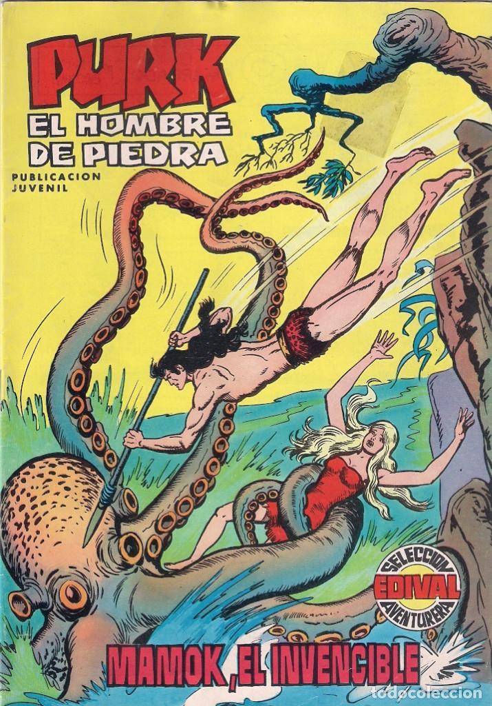 PURK, EL HOMBRE DE PIEDRA Nº 4. COLOR (Tebeos y Comics - Valenciana - Purk, el Hombre de Piedra)