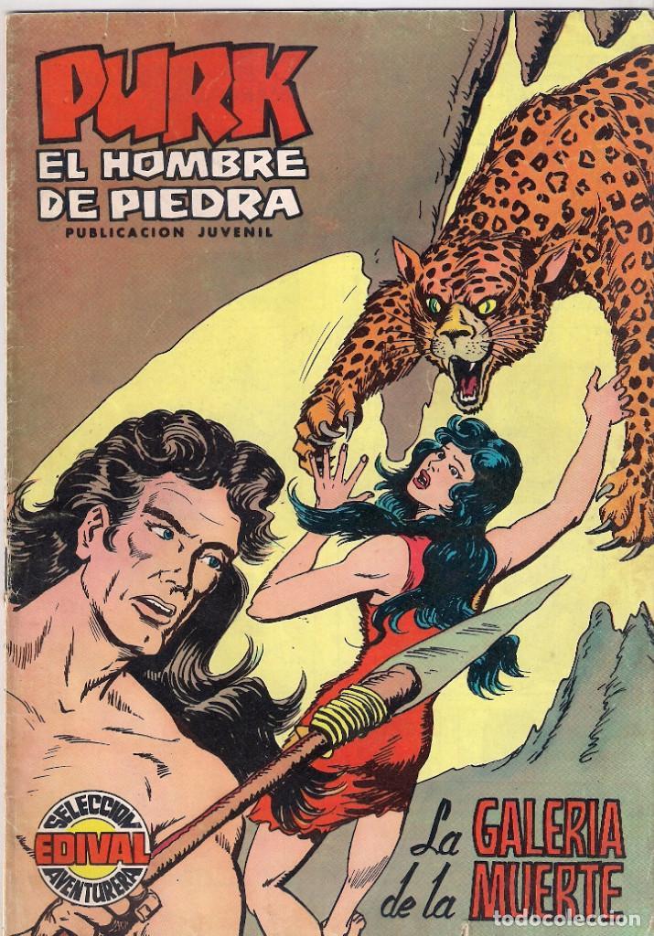 PURK, EL HOMBRE DE PIEDRA Nº 6 . COLOR (Tebeos y Comics - Valenciana - Purk, el Hombre de Piedra)