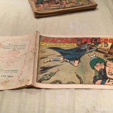 Tebeos: EL GUERRERO DEL ANTIFAZ - Nº152 - HACIA EL PELIGRO - EDITORIAL VALENCIANA . Lote 155723494