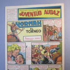 Tebeos: JUVENTUD AUDAZ (1947, VALENCIANA) 15 · 1951 · GESTAS PARA LA JUVENTUD AUDAZ. Lote 155723806